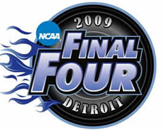 2009 College Basketball Final Four in Detroit, Michigan