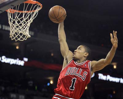bulls400 Rose Garden Shocked, Derrick Rose Shocks Boston