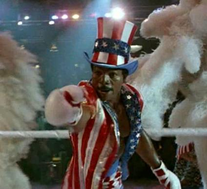 Apollo Creed, Rocky IV, Carl Weathers