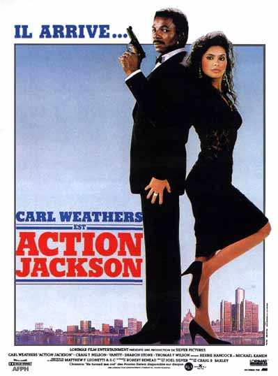 Action Jackson Poster, Carl Weathers