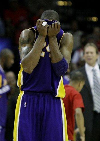 Kobe Bryant Frustrated