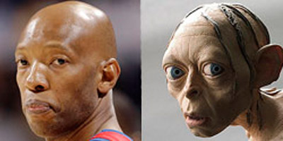gollum cassel Funniest NBA Players Nicknames
