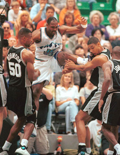 karl malone and tim duncan NBA MVPS Never to win a Championship