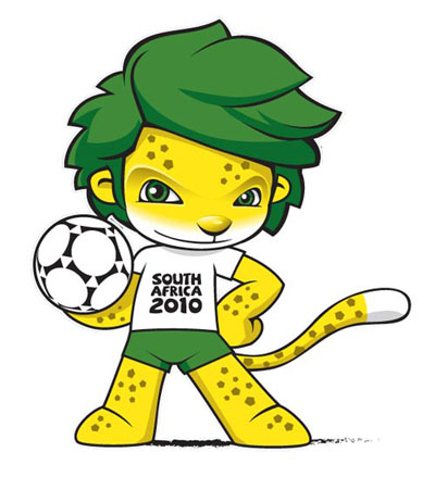 Zakumi, 2010 World Cup Mascot