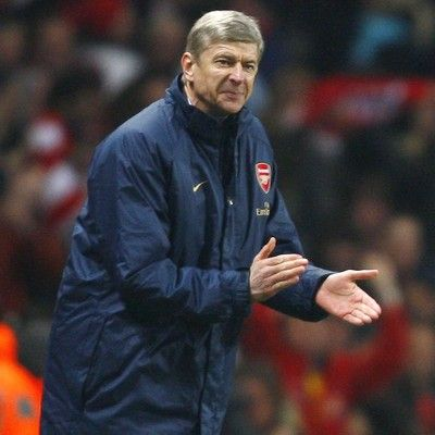 Arsene Wenger didn't smile very much in 2008-2009