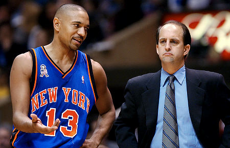Mark Jackson and Jeff Van Gundy