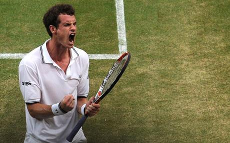 andy murray roar 1433414c Andy Murray Wins Best Match of Wimbledon so far