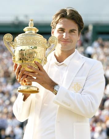 fed Potential Wimbledon Winners not Called Roger Federer