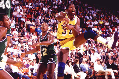 magic johnson Top Ten NBA Assists Leaders of All Time