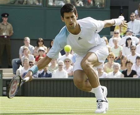 nova djokovic wimbledon08shoes Potential Wimbledon Winners not Called Roger Federer