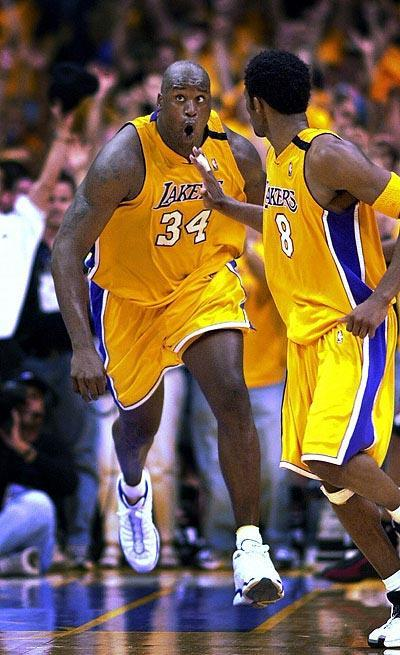 shaq4 Top Ten NBA Scorers of All Time