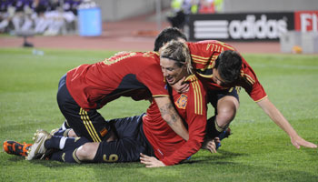 Fernando Torres Celebrating