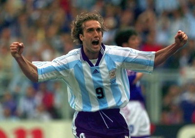 batistuta argentina Top Scorers in World Cup History
