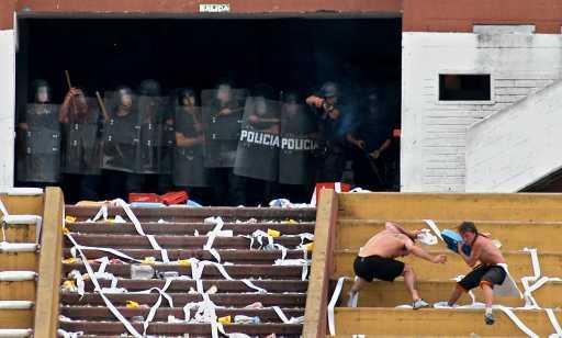 Nacional Penarol Riots