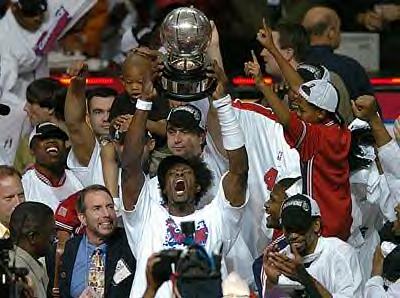 Detroit Pistons Champions 2004