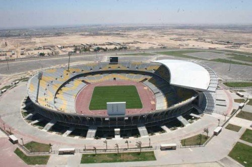 Borg El Arab e1317722508211 Top Ten Biggest Soccer Stadiums in the World