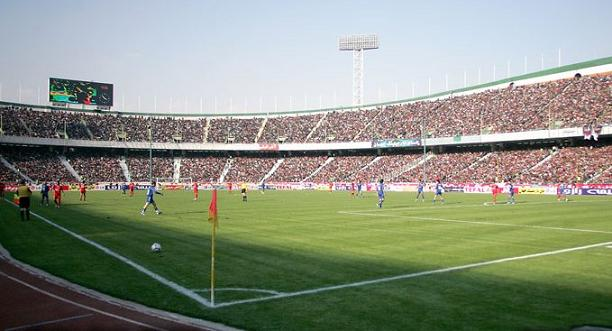 azad8i teheran Top Ten Biggest Soccer Stadiums in the World