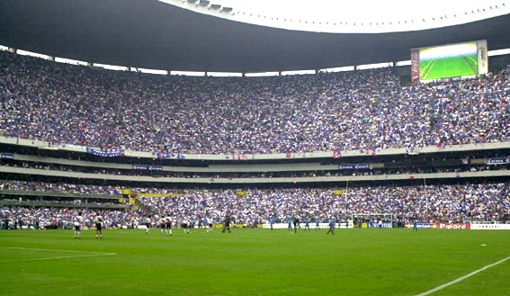 estadio azteca1 Top Ten Biggest Soccer Stadiums in the World