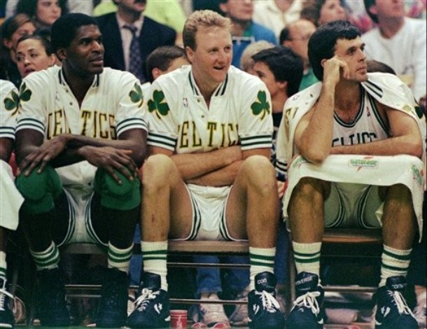 Robert Parish Larry Bird Kevin McHale