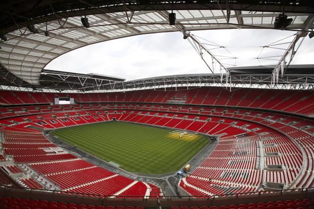 wembley stadium Top Ten Biggest Soccer Stadiums in the World
