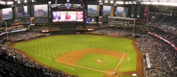 Chase Field e1331317412882 Top Ten Biggest MLB Stadiums