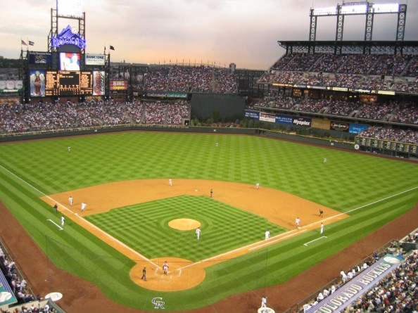 Coors Field e1331317504991 Top Ten Biggest MLB Stadiums