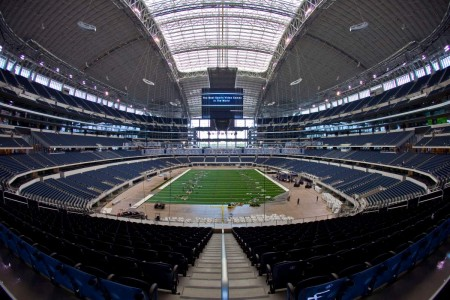 Cowboys Stadium e1319453691957 Top Ten Biggest NFL Stadiums