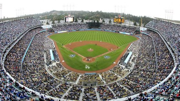 Dodger Stadium e1331317934610 Top Ten Biggest MLB Stadiums