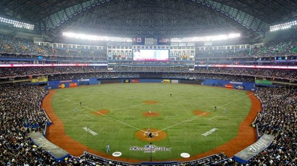 Rogers Centre e1331317698513 Top Ten Biggest MLB Stadiums
