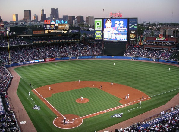 Turner Field e1331317867687 Top Ten Biggest MLB Stadiums