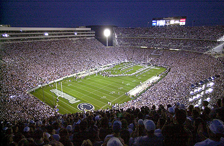 beaver stadium lg Top Ten Biggest College Football Stadiums