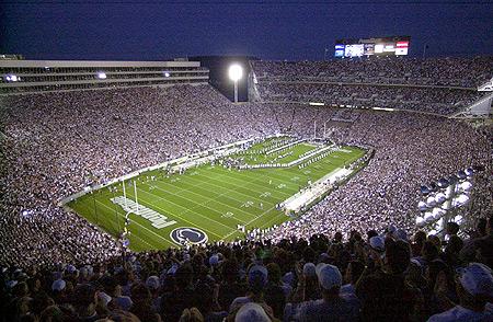 beaver stadium lg Top Ten Biggest College Football Stadiums