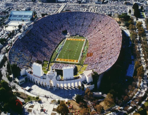coliseumtitle Top Ten Biggest College Football Stadiums