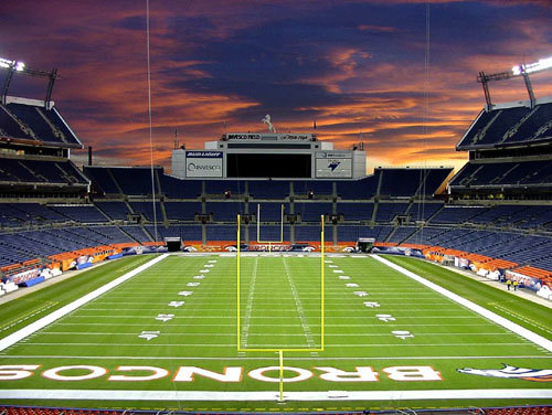 denver invesco field Top Ten Biggest NFL Stadiums
