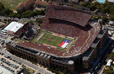 dkr1 Top Ten Biggest College Football Stadiums