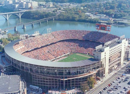 neyland stadium Top Ten Biggest College Football Stadiums