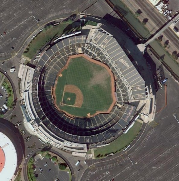 o.co coliseum e1331317314564 Top Ten Biggest MLB Stadiums