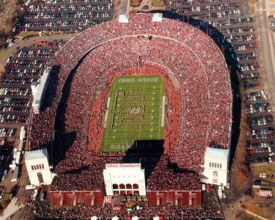 ohio stadium Top Ten Biggest College Football Stadiums