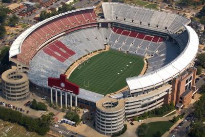 stadiums alabama Top Ten Biggest College Football Stadiums