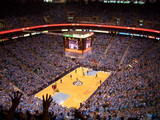 EnergySolutions Arena e1323858013986 Top Ten Biggest NBA Arenas