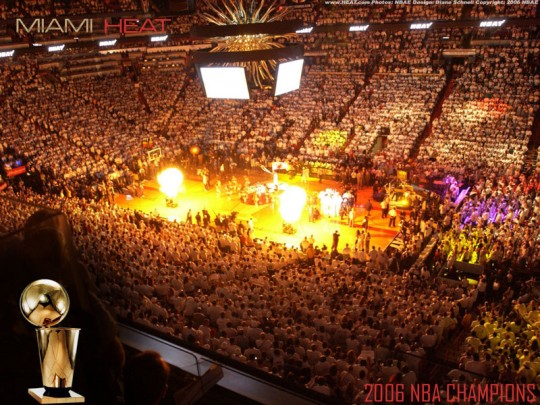 Miami Heat American Airlines Arena  e1323857219644 Top Ten Biggest NBA Arenas