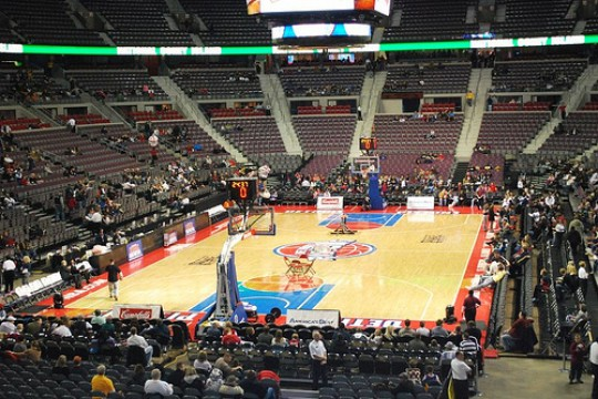 The Palace of Auburn Hills e1323859116737 Top Ten Biggest NBA Arenas