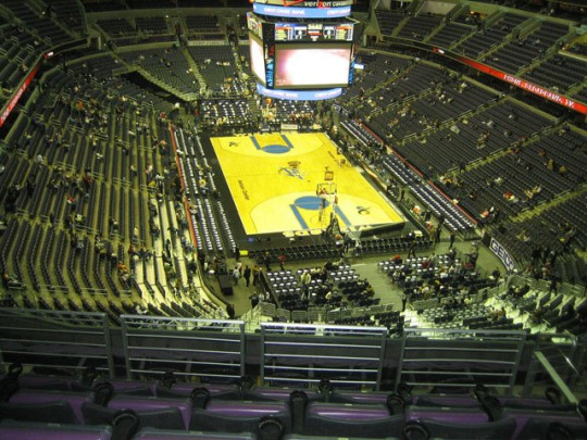 Verizon Center e1323858419346 Top Ten Biggest NBA Arenas