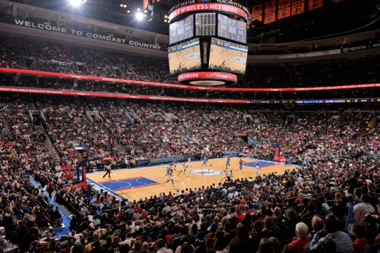 Wells Fargo Center e1323858609274 Top Ten Biggest NBA Arenas