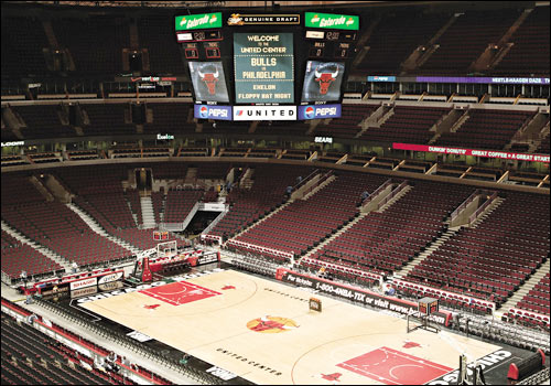 interior Top Ten Biggest NBA Arenas