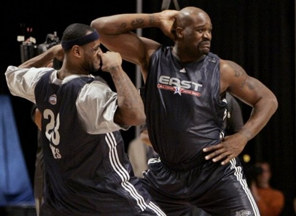 shaqlebron Top Five Centers in the NBA, Going into 2009 2010