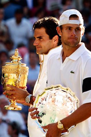 Roger Federer Andy Roddick