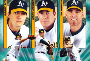 oakland a s big three feature Ranking the MLB Teams 2000 2009