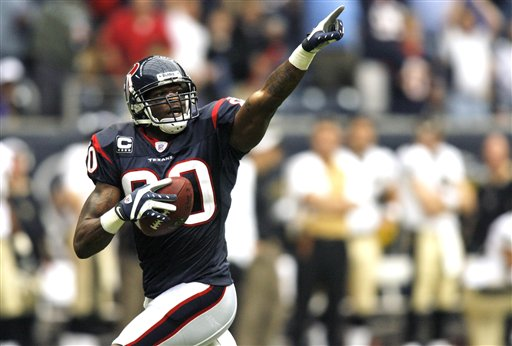 Andre Johnson Teams That Have Never Made it to the Super Bowl