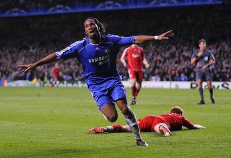 Didier Drogba Top Ten UEFA Champions League Scorers of All Time